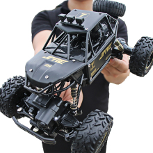 RC Car 4wd Update Version 2.4G Radio Remote Control Toy Truck rc crawler rock cars wltoys Childrens Toys