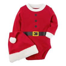 Одежда для мальчиков и девочек от 0 до 24 месяцев Рождественский