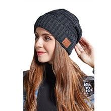 Bluetooth вязаная шапка наушники стерео вызов V5.0 беспроводная гарнитура музыкальная шапка зимние теплые наушники для бега спортивная Гарнитур...