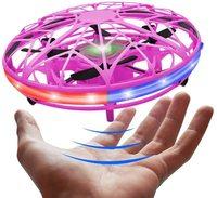 Roclub Mini Flying Helicopter RC UFO Dron Aircraft Boys Drone controllato a mano infrarossi RC Quadcopter induzione giocattoli per bambini