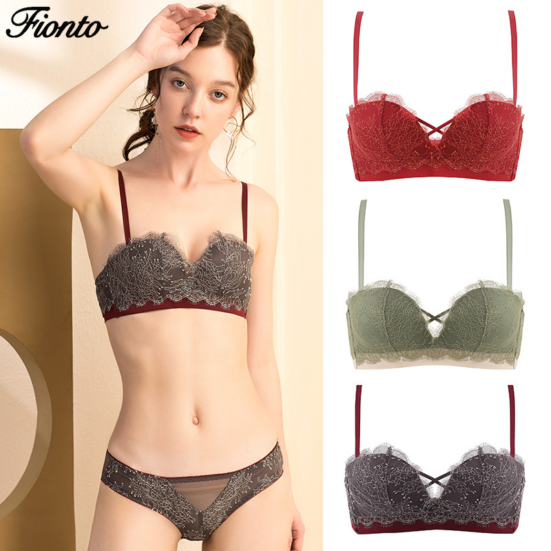 Everyday Women Bra Lace Intimate Lingerie Soft Cup Underwear Large Bust Bralette