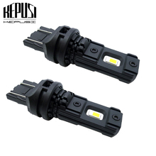 цена на 2pcs T20 LED W21/5W W21W 7440 7443 LED Bulbs Car Brake Reverse Tail Lights 12V 24V White Super Bright Auto Lamp