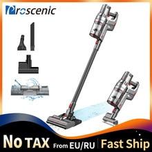 Proscenic p11 sem fio aspirador de pó vara handheld com mop 25000pa poderoso para piso duro tapete pet cabelo e lavagem