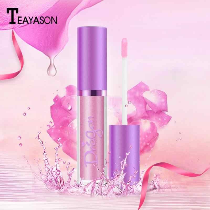 לאורך זמן מט עירום שפתון יופי איפור Labiales אודם עמיד למים איפור נוזל גלוס קוסמטיקה כלי TSLM1