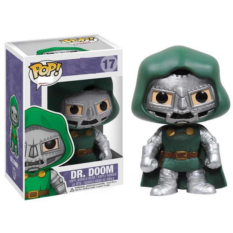 Funko POP movie Marvel Dr. Doom 17# Action Figures Model Toys fans kids birthday Gifts new arrivel
