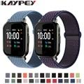 Ремешок нейлоновый Плетеный для смарт-часов Xiaomi Haylou LS02, браслет для Amazfit Bip Lite 1S U /GTS 2 2e, 20 мм
