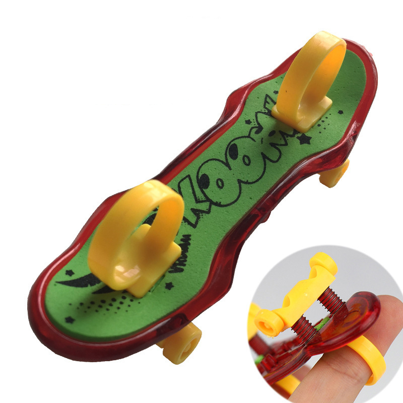 High Quality Cute Party Favor Kids Children Mini Finger Board Fingerboard Alloy Skate Boarding Toys Gift Boy Toys
