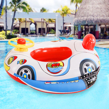Children Swimming Ring Inflatable Float Seat Water Play Fun Game Swim Circle Outdoor Sport Swim Learning Toy Gift For Baby Kids