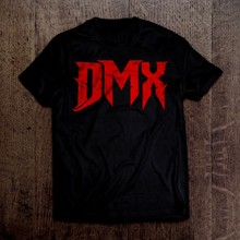Camisa do rapper do rap do hip hop de dmx ruff ryders
