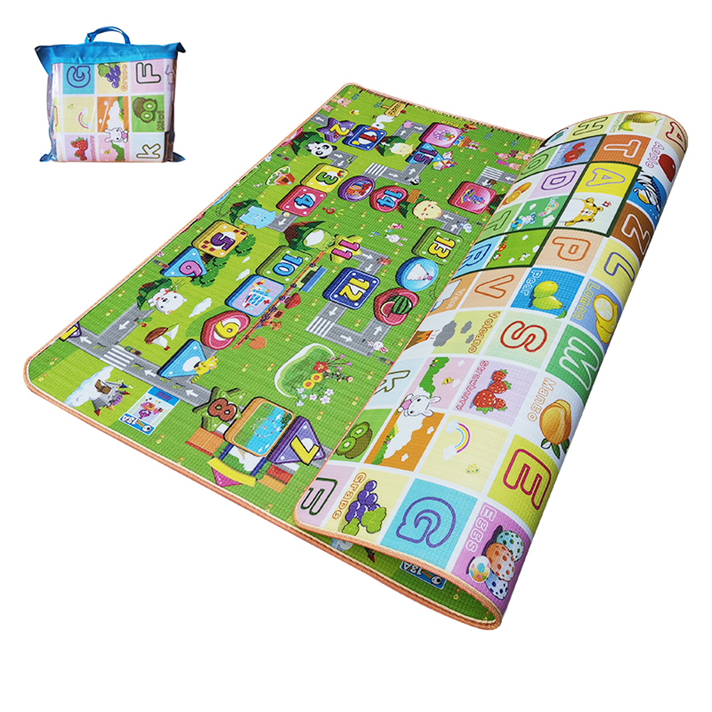 Baby Crawling Pad Thickened Climbing Pad Children's Floor Mat Living Room Pad Baby Carpet Rug Animal And Letter Developing Mat