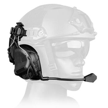 Tactical Headset Helmet-Type Game Headphone Fifth Generation Chip Removable Design For Hunting Games
