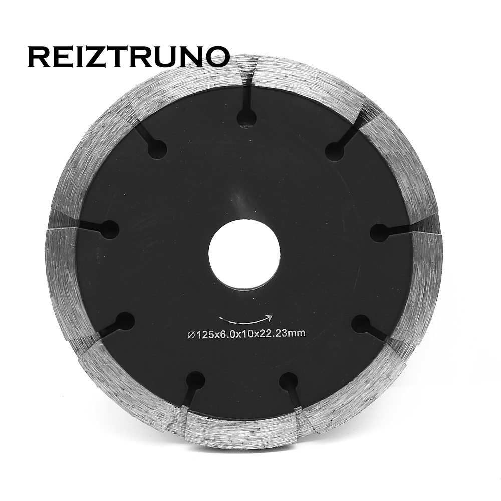 REIZTRUNO 125mm Premium Cutter Blade 5-Inch Tuckpointing Diamond Saw Blade For Stone Concrete Cutting