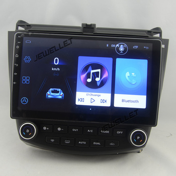 10.1 octa core 1280*720 QLED screen Android 10 Car GPS radio Navigation for Honda Accord 2003-2007 with 4G/Wifi DVR OBD 1080P image