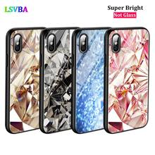 Black Cover Diamond Pieces for iPhone X XR XS Max for iPhone 8 7 6 6S Plus 5S 5 SE Super Bright Glossy Phone Case цены