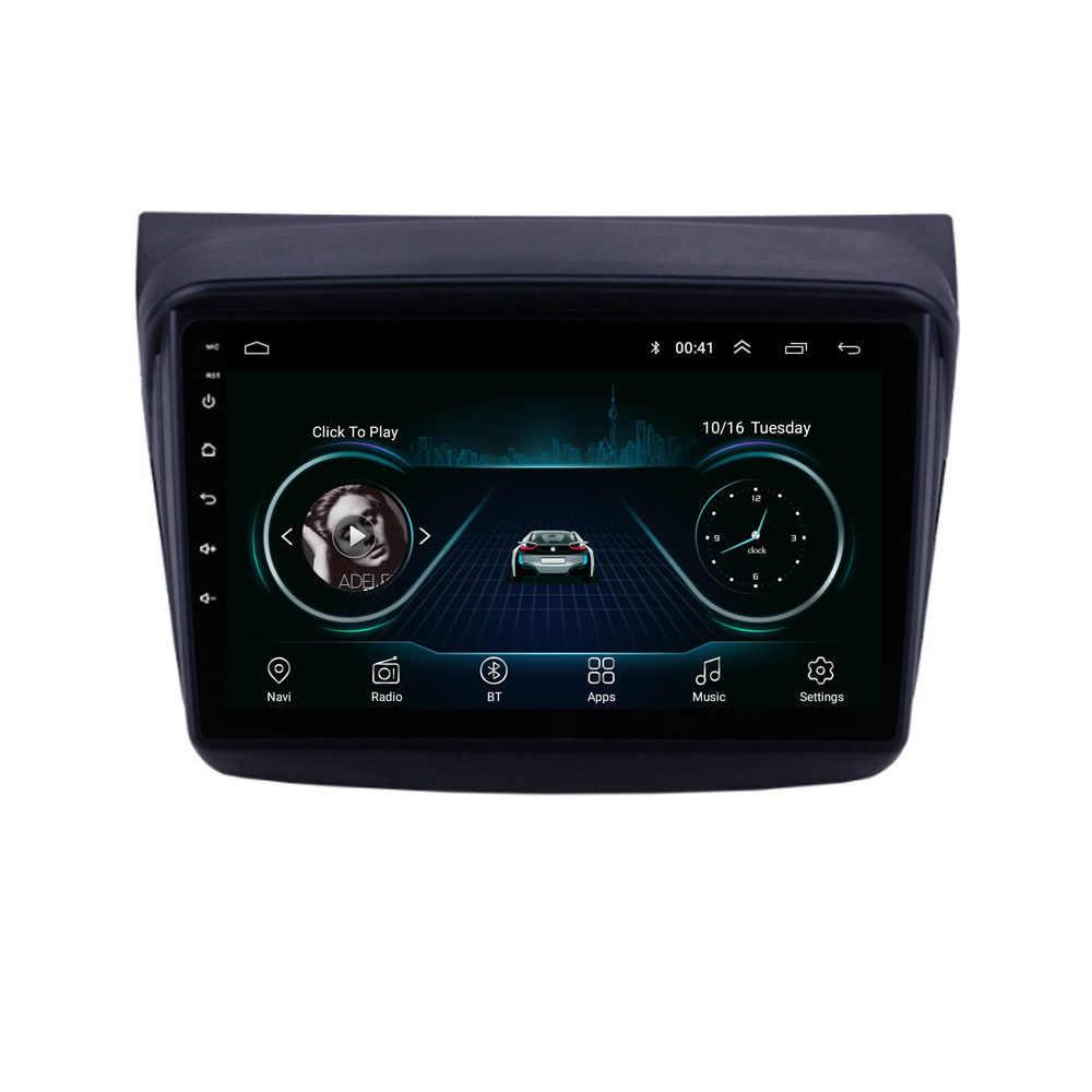 4G Android 8.1 Voor MITSUBISHI PAJERO Sport/L200/2006 + Triton/2008 + PAJERO 2010 Multimedia stereo Auto Speler Navigatie GPS Radio