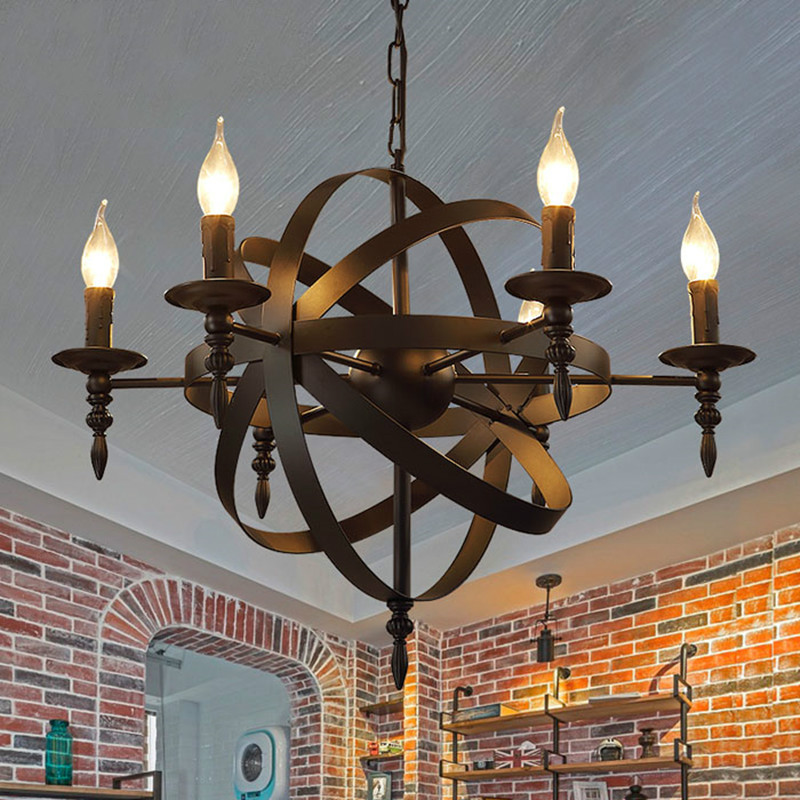 Retro Industrial Style Pendant lights Edison Lamps nordic Loft decorstion lighting chandelier modern light fixture YHJ010904