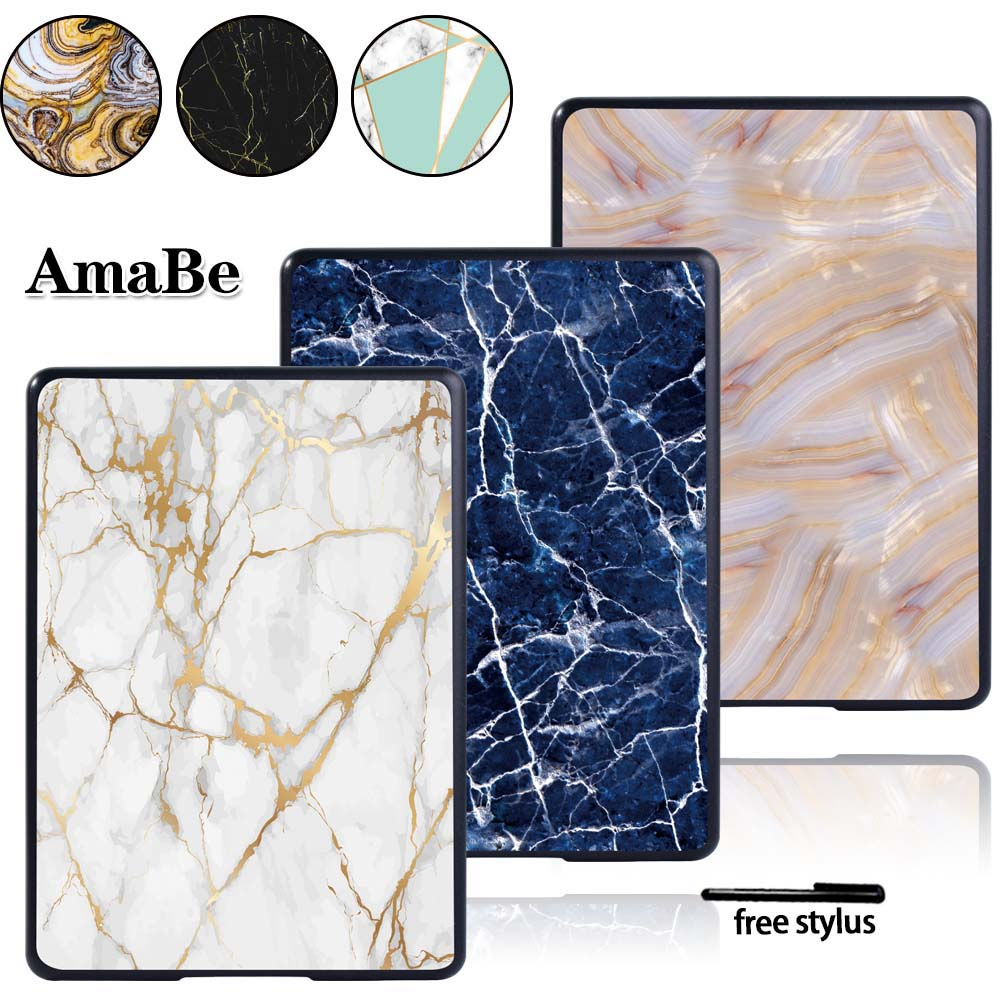 Marble Case Cover For Amazon Kindle 10th Generation 2019/Kindle 8th Generation 2016 Hard Shell Tablet Case Tablet Accessories
