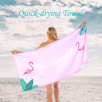 80x160cm ręcznik plażowy z mikrofibry nadmorski krem przeciwsłoneczny dwustronny aksamit szybkoschnący ręcznik sportowy drukowany ręcznik plażowy ręcznik kąpielowy tanie i dobre opinie Noocuxuekon CN (pochodzenie) mikrofibra