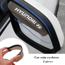 Eyebrow Sun-Shade Visor-Look Accent Rain Azara Santa-Fe Sonata Tucson Elantra Hyundai