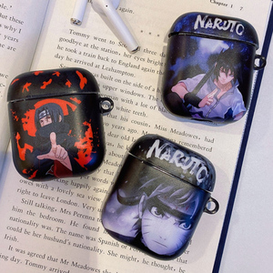 Uchiha Itachi For AirPods Apple Case Japan Anime Naruto Headphone Cases For Airpods 1 2 TPU IMD Case Accessories Protector Cover(China)