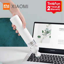 XIAOMI MIJIA Portable Car Hand Helded Vaccum Cleaner for home Wireless Mini Dust Catcher Collector 13000Pa Strong Suction 30min