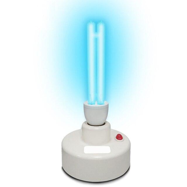 1 pièces Uvc lampe de stérilisation ultraviolette Uv lumières E27 15w/20w ampoule pour bureau à domicile luminaires germicides Se25