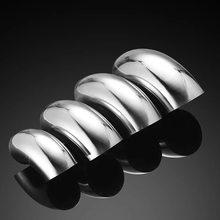 Автомобильный аксессуар, глушитель выхлопной трубы из нержавеющей стали, угол обзора 90 градусов, для снижения диаметра, 1 шт.