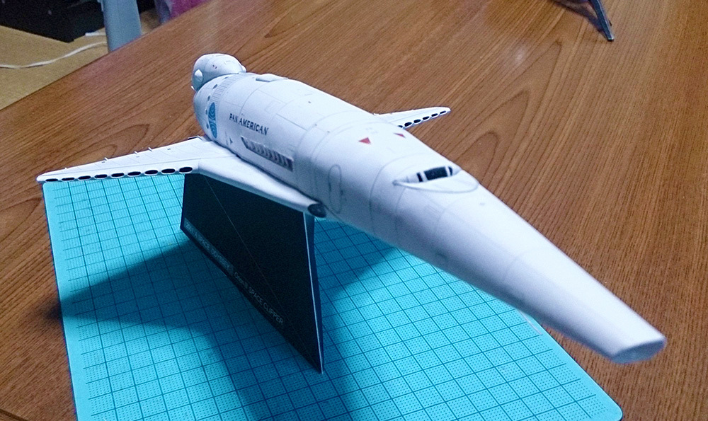 Orion III Spaceship Space Paper Model DIY Students Handmade DIY Space Enthusiasts Gift Collection