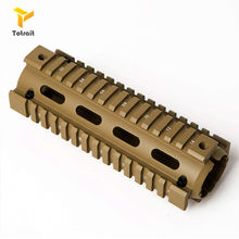 TOtrait 6.7 cala AR15 M4 Carbine Handguard RIS Drop-in Quad Rail Mount Tactical Free Float Airsoft AR-15 karabin akcesoria(China)
