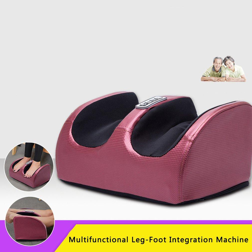 Wärme Fuß Massage Maschine Fuß Massager Bein Massager Schmerzen Relief Entspannen Fuß Entspannung Kneten Roller Vibrator UNS/EU/UK/CN Stecker
