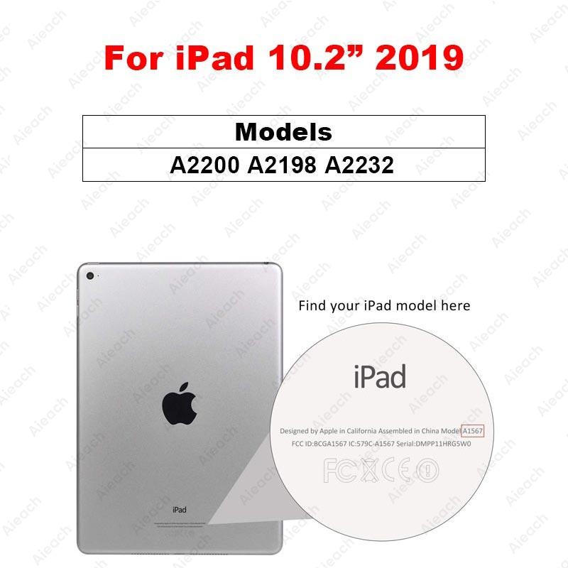 Защитное стекло с закругленными краями для iPad Pro 11 10,5 9,7 Защитная пленка для экрана для iPad 10,2 Mini 5 4 Air 3 2 1 закаленная пленка - Цвет: For iPad 10.2 2019