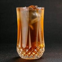 300-400 мл круглая Алмазная стеклянная кружка для виски со льдом, кофейная кружка, водка, Колин, стеклянная чашка Seabo, стакан для сока, коктейля, оборудование для питья