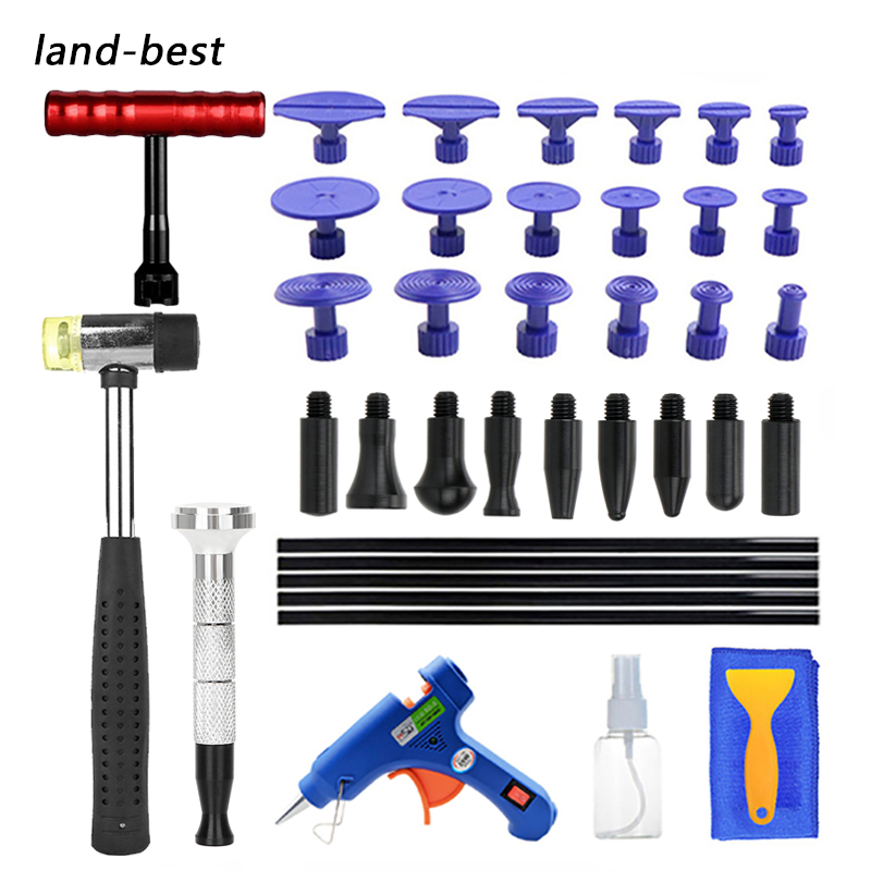 PDR Tools DIY Remove Dent Paintless Dent Repair Tool Car Dent Hail pit repair Straightening Pulling Dent Instruments suction cu