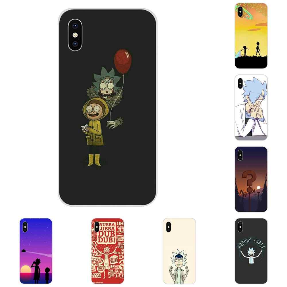 TPU Cases Capa Cover Rick And Morty Back For Huawei Honor 4C 5A 5C 5X 6 6A 6X 7 7A 7C 7X 8 8C 8S 9 10 10i 20 20i Lite Pro