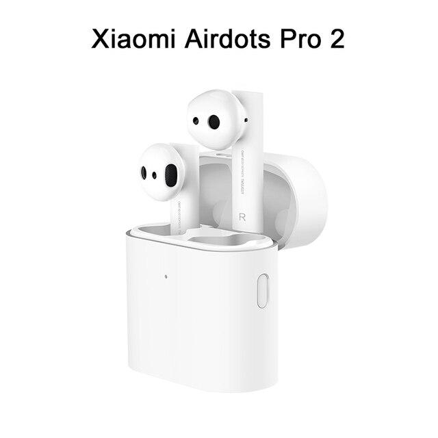 Nouveau Xiaomi Air 2 TWS sans fil Bluetooth écouteur Xiaomi Airdots Pro 2 sans fil casque LHDC double micro Pause automatique contrôle du robinet