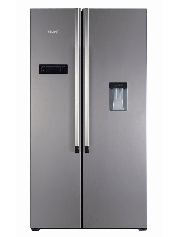 Refrigerator American Sauber Sa177Id Nofrost TO ++ Inox