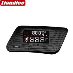 Liandlee pełna funkcja wyświetlacz do samochodu HUD dla Infiniti QX56 2018 2019 bezpieczne jazdy ekran OBD Data projektor do przedniej szyby w Wyświetlacz projekcyjny od Samochody i motocykle na