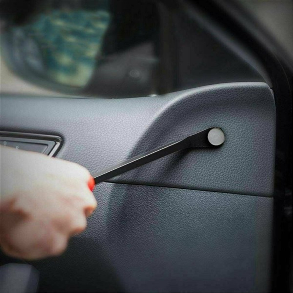 Car Door Card Panel Fastener Retainer Trim Clip Removal Plier Pry Hand Tool