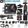 Eken câmera de ação eken h9r/h9 ultra hd 4 k wifi controle remoto esportes vídeo filmadora dvr dv ir à prova ddv água pro câmera