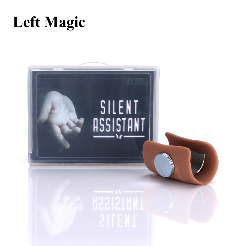 Silent Assistant (Gimmick And Online Instructions) By SansMinds Close Up Magic Tricks Street Magic Illusion Gimmick Magic Props
