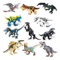 Jurassic Welt 2 Bausteine Dinosaurier Zahlen Bricks Tyrannosaurus Rex Indominus Rex ICH-Rex Legoinglys Dinosaurier Kinder Spielzeug