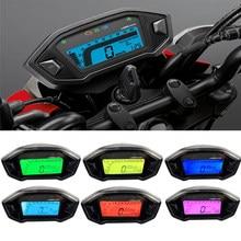 12v motocicleta lcd digital indicador velocímetro velocímetro para honda grom 125 msx125 odômetro à prova dwaterproof água medidor