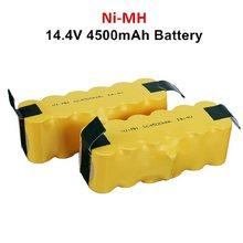 Atualizar 14.4v 4500mah bateria de substituição estendida-para irobot roomba 500 600 700 800 series aspirador de pó 785 530 560 650