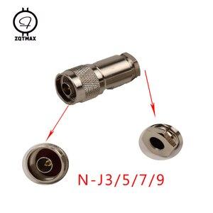 Image 4 - ZQTMAX 10PCS Variety models N KK N JJ N J5/J7 N 75 5/7 N Type Male Female Connector Coaxial Connectors Convert Adapter