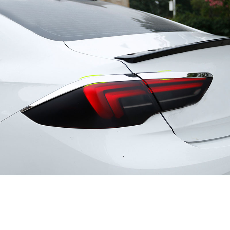 Lsrtw2017 Stainless Steel Car Taillight Strip Trims For Buick Regal Opel Insignia 2018 2019 2020 Interior Accessories Styling