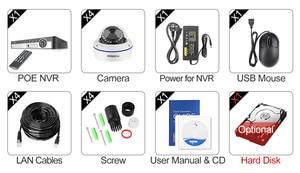 Image 5 - MISECU 4CH 5MP POE NVR Sistema De Segurança De Vídeo 2/4PCS 2MP 1080P POE IP Câmera Dome De Áudio kit Câmera de CCTV de Vigilância À Prova de vandalismo