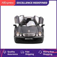 Maisto mercedes-benz CLK GTR 1: 18 juguete de modelo de coche estático coche en miniatura de aleación decoración preciosa colección regalo para niños