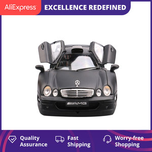 Maisto Mercedes-Benz CLK GTR 1: 18 Car Model Toy Static Alloy Car Model Decoration Precious Collection Gift for Children