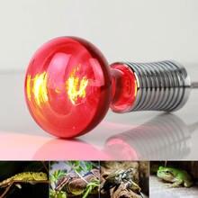 E27 100 Вт лампа для обогрева домашних животных Мини Инфракрасный