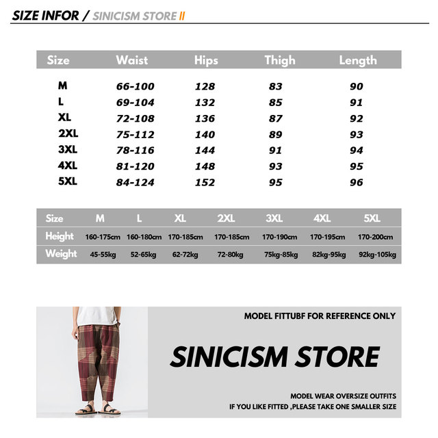 Sinicism Store Men Patchwork Harem Pants Mens Breathable 2020 Chinese Style Loose Joggers Male Summer Pants Oversize Bottoms 15